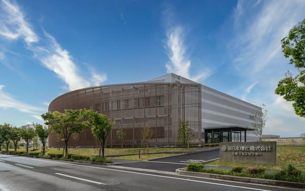 新日本理化がけいはんな学研都市に設けた新研究拠点