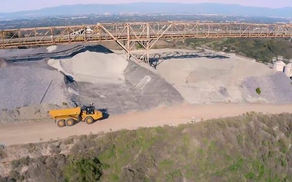 米シリコンバレーの採石場を自律走行するダンプトラック(写真:セーフエーアイ)
