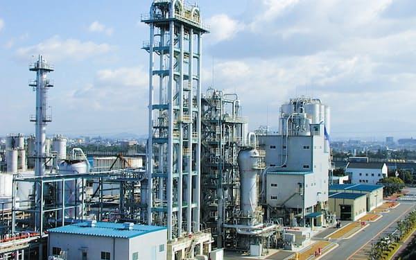 プライムポリマーのポリプロピレンの既存製造整備(同社大阪工場)