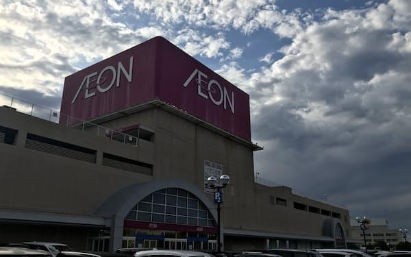 31日で閉店するイオン御経塚ショッピングセンター(石川県野々市市)