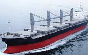 神田造船のばら積み船