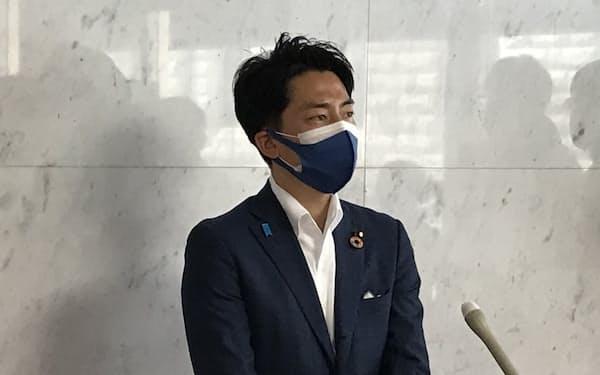 小泉氏は地熱発電の開発加速に向けた取り組みを進める