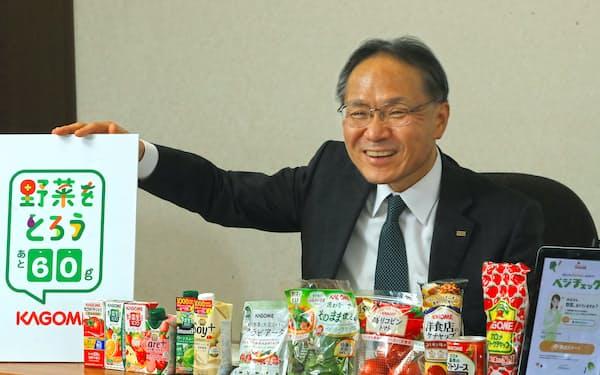 やまぐち・さとし 83年(昭58年)東北大農卒、カゴメ入社。10年執行役員、19年取締役常務執行役員。20年から現職。静岡県出身。60歳。趣味はランニングで、東京マラソンに出場した経験もある。