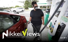 米ガソリン需要、行楽期で復調 価格上昇世界に波及