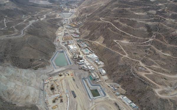 三菱商事が参画するペルーのケジャベコ銅鉱山