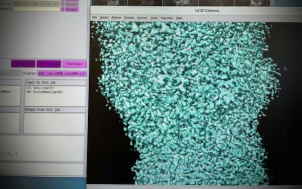 キュライオはたんぱく質の構造解析に強みを持つ