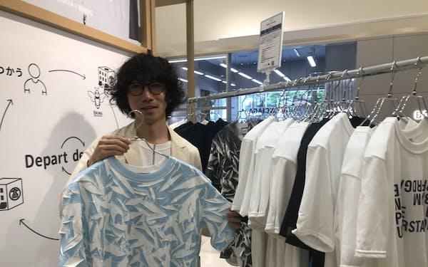 高島屋は再生ポリエステルを使った衣料品を販売する