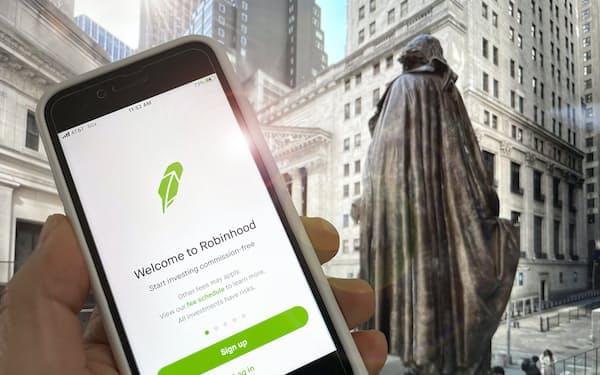 ロビンフッドは個人投資家がIPO株式を購入できる仕組みを導入した=AP