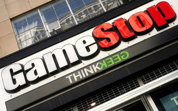 ゲームストップ株は代表的な「Meme Stock」だ=ロイター