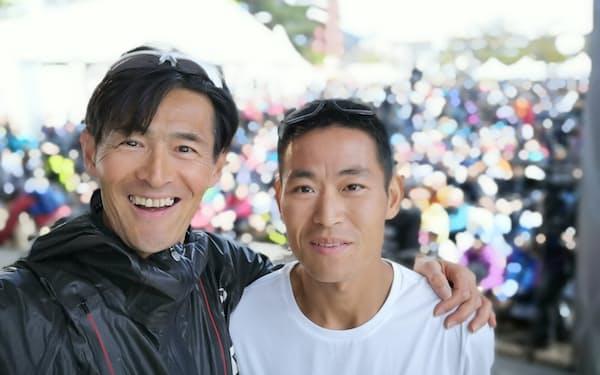 富士山麓での2年前のUTMFで2位となった梁晶選手㊨も5月のレース事故で亡くなった