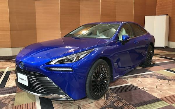 トヨタ自動車の燃料電池車(FCV)「MIRAI(ミライ)」