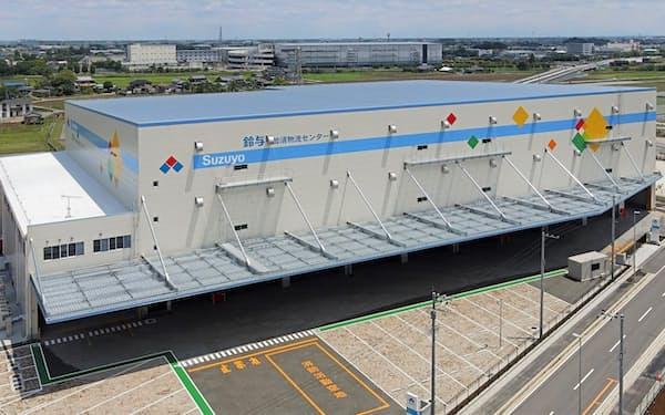 鈴与が埼玉県加須市で稼働させた加須物流センター