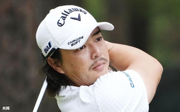 メジャー3冠を狙う石川遼は「自分のゴルフでいかに攻略していくか」と気合十分=共同