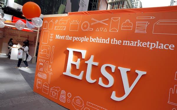手作り品のECサイト運営のエッツィーはZ世代の消費者を新たな成長の柱に位置づける=ロイター