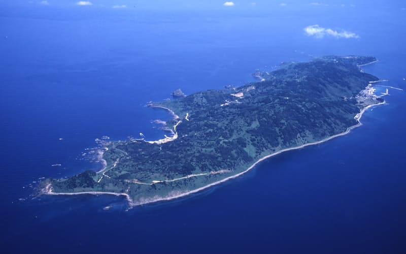 2022年には高速光通信が利用できるようになる粟島浦村