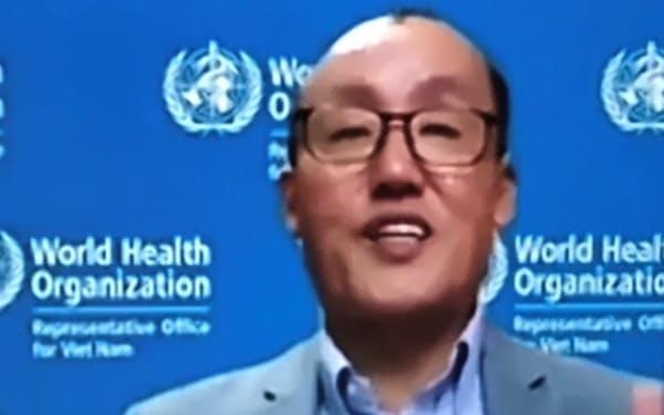 WHOベトナム事務所のキドン・パク代表