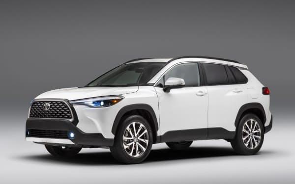 トヨタが北米市場で発売する「カローラクロス」