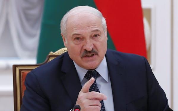 ルカシェンコ大統領は「欧州最後の独裁者」とも呼ばれる=ロイター