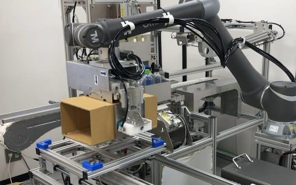 アルトリストは商品に傷を付けずに梱包する機械などに強みをもつ(イメージ)