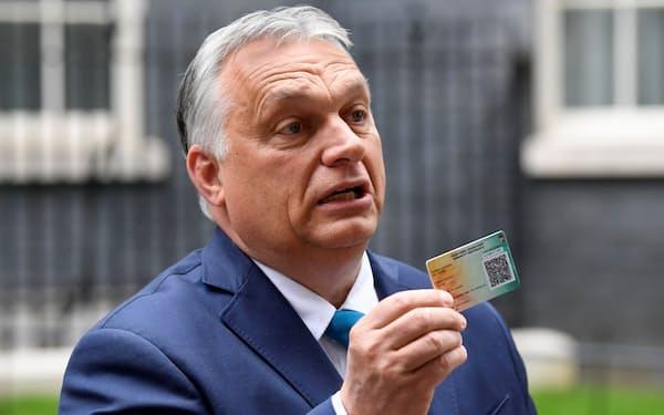 ハンガリーのオルバン首相=ロイター