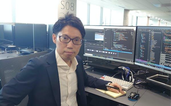 いまい・やすのり 12年東京工業大学修了、ソニー(現ソニーグループ)入社。生産技術のR&D部門でセンシング技術開発に従事。19年ソニーマーケティングのB2Bビジネス部に異動、AIソリューションの提案を担う。