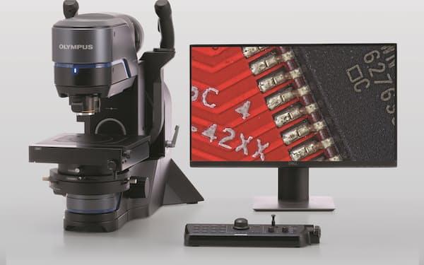 オリンパスの科学事業は工業用の顕微鏡などを手掛ける