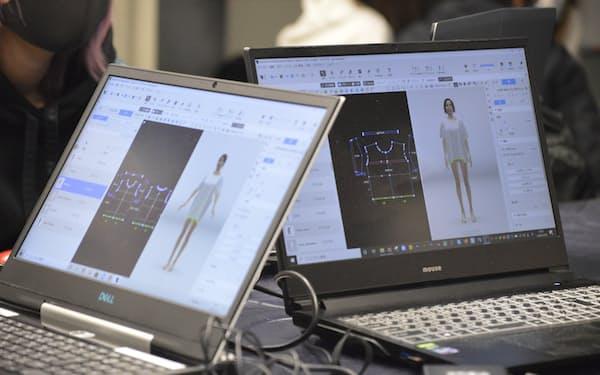 3次元コンピューターグラフィックで服をデザインする人材を養成する