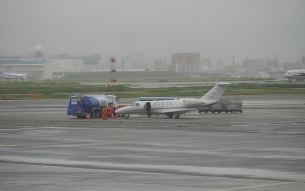 ユーグレナのバイオ燃料は、国交省の飛行検査機に導入された
