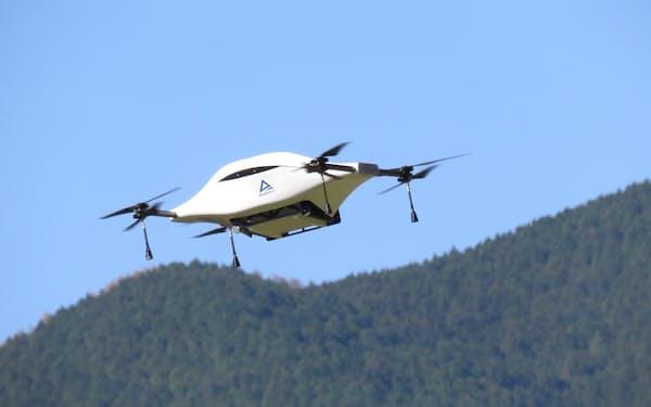 セイノーホールディングスが山梨県小菅村で飛ばす予定のドローン