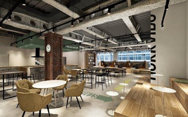 ジェイアール東日本企画は札幌駅近くのビルにインキュベーション施設を開設する