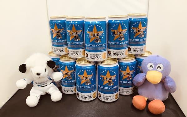 サッポロビールが発売する埼玉西武ライオンズ応援ビール