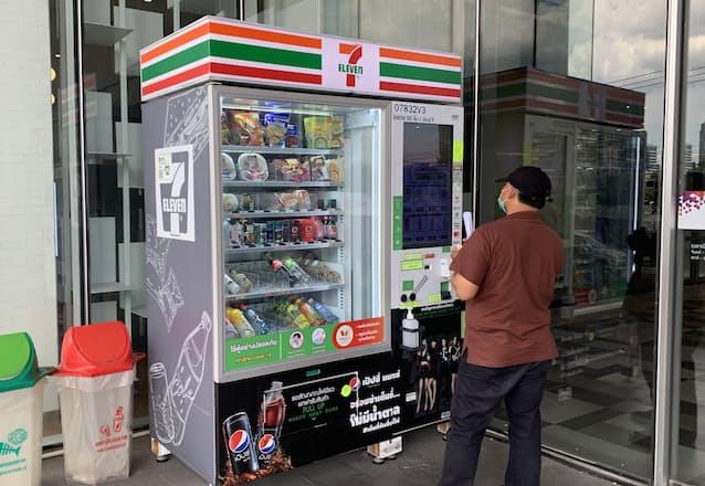 タイ、コンビニ自販機急拡大 時短営業や接触回避で: 日本経済新聞