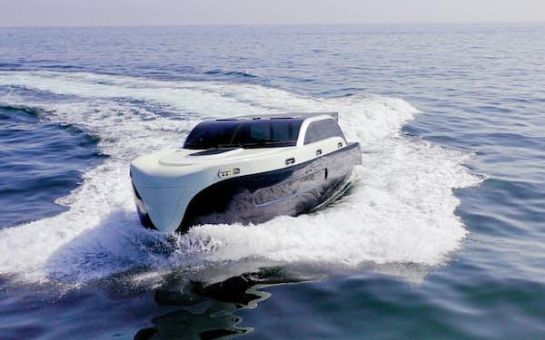 マリンエックスは個人も自動航行を利用できるようクルーザーの開発を進める