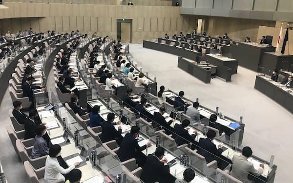 都議会は補正予算などを可決して第2回定例会を閉じた(7日)