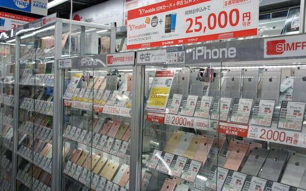 中古市場は「iPhoneSE(第2世代)」の人気が高まっている