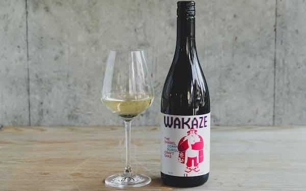 ワカゼはパリ近郊に酒蔵を構え日本酒を製造する