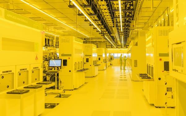 ボッシュが独東部ドレスデンに開いた半導体工場=同社提供