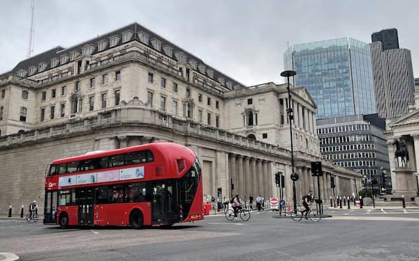 英イングランド銀は独自のデジタル通貨の研究も進めている(ロンドン)