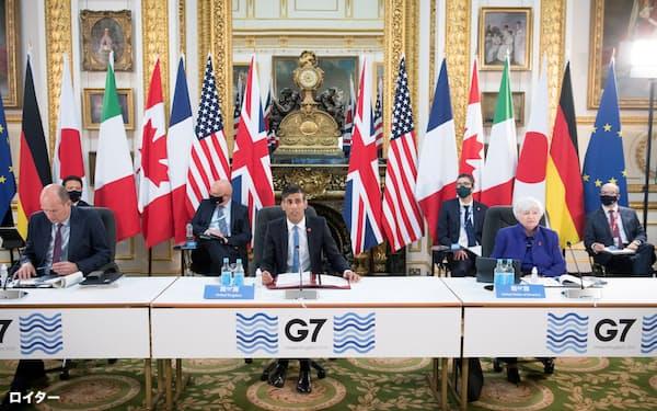 G7の合意は株式市場で材料視されなかった=ロイター