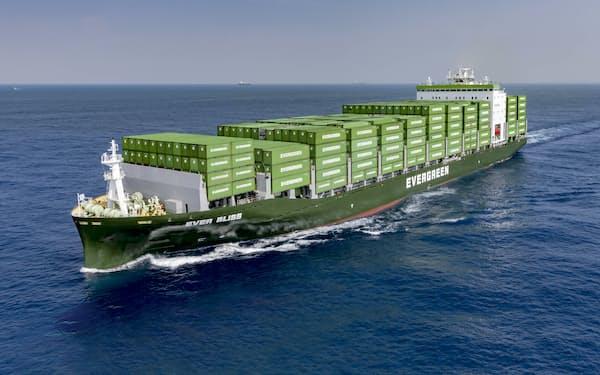 台湾からの中国向け輸出は、半導体を中心に過去最高水準にある=長栄海運提供