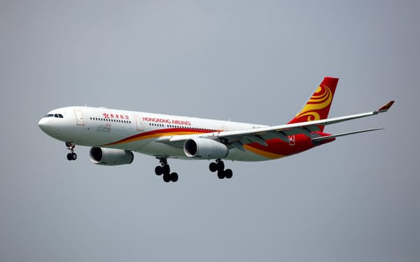 香港航空はコロナ前から経営不振が続く=ロイター