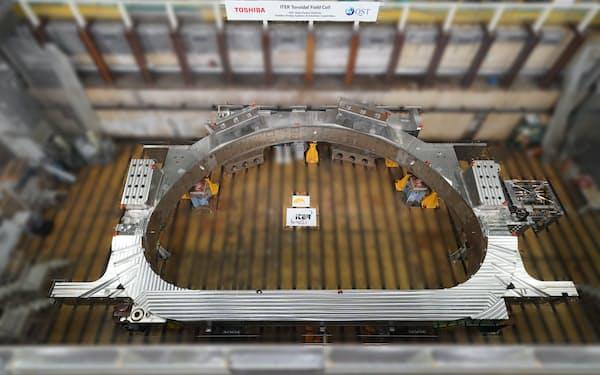 国際熱核融合炉の中核部品を完成させた