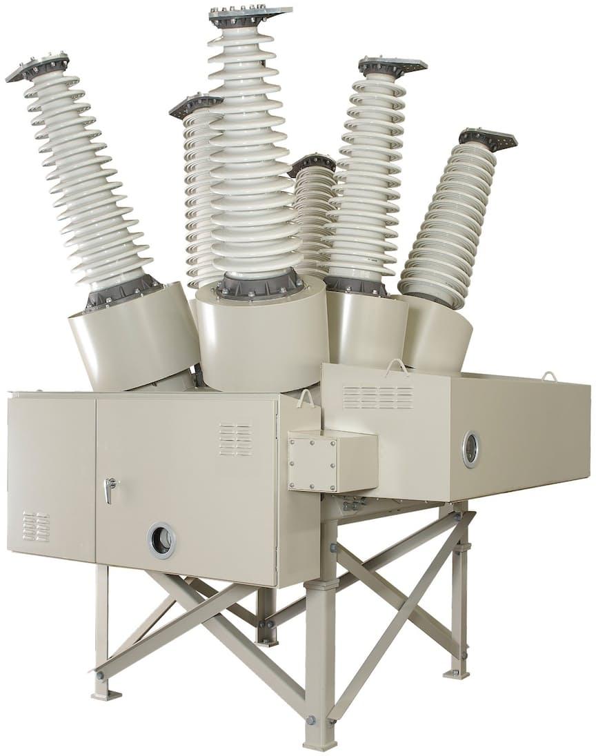 真空遮断器は電流の遮断に使われる