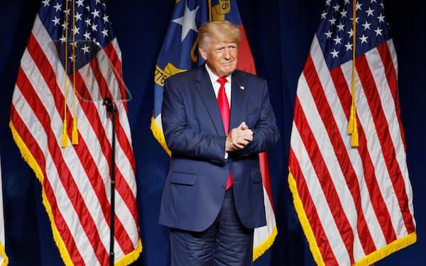 上院の報告書はトランプ前米大統領の関与について触れていない=ロイター