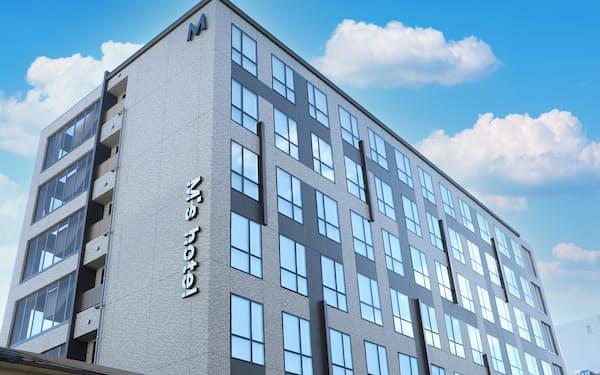 ホテルエムズは京都市内にホテルを3軒開業する(写真はJR京都駅南側のホテル)