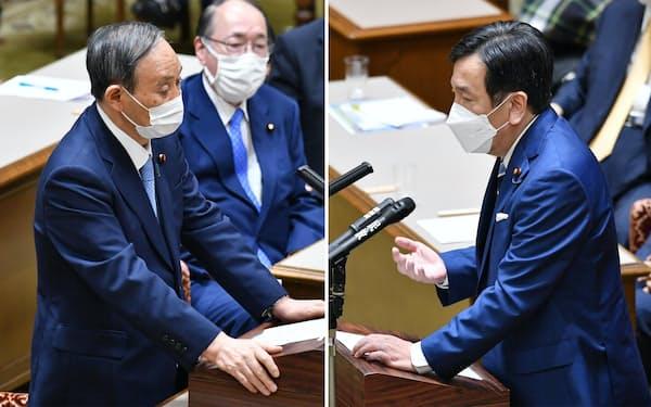 党首討論では新型コロナ対応や東京五輪開催の是非などが焦点となった