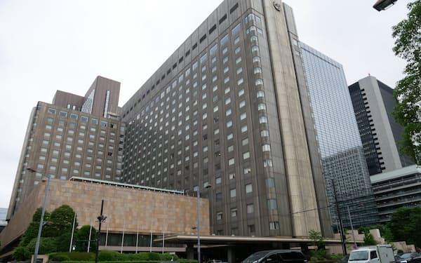 大手ホテル各社は従業員へのワクチン接種の準備を早めている(帝国ホテル東京)