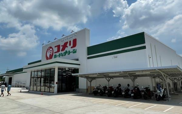 バンコク郊外に開店する「コメリ・ハードアンドグリーン・パノムサラカーム店」