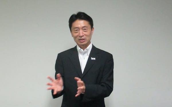 ボックスジャパンの古市克典社長