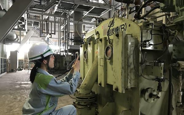 火力発電所の点検作業をアプリで効率化する